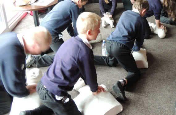 CPR training children